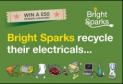 Bright Sparks Recycling Event