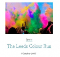Leeds Colour Run at Harewood