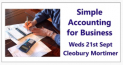 Simple Accounting for Business Workshop