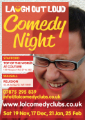 Laugh Out Loud - Comedy Night