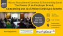 The Power of an Employer Brand, Onboarding and Tax Efficient Employee Benefits