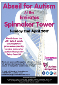 Abseil the Spinnaker Tower for Autism Hampshire