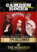 Camden Rocks presents Hands Off Gretel & more at The Monarch