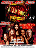 Moulin Rouge meets Coyote Ugly Party Night Spectacular