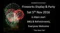 Fireworks Display and Party