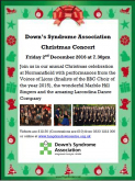 Down's Syndrome Association Christmas Concert