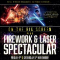 Royal Windsor Racecourse Fireworks Display and Star Wars Drive-in Movie