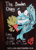 Fridays are 'Bowden Chippy' Nights at The Red Lion