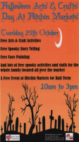 Halloween Arts & Craft Day