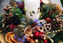 Christmas Floral Demonstration at Larkmead School
