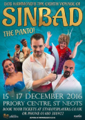 St Neots Players Presents … Sinbad – The Panto  - The Priory Centre