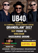 UB40 with support from Level 42 & The Wailers