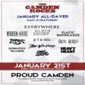 The Camden Rocks January All-Dayer Pt. 2 at Proud Camden