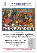 HOW RATIONAL WERE THE CRUSADES ?