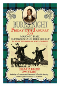 Burns Night in Aid of the Mayor Charities