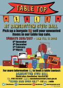 Table Top Sale at Ramsbottom Civic Hall