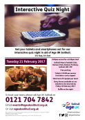Interactive Quiz Night by Age UK Solihull