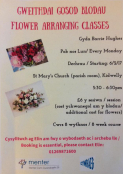 Flower-arranging Classes @ Kidwelly