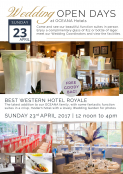 Wedding Open Day @ Best Western Hotel Royale