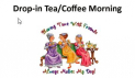 Coffee Morning - Drop In at Llanteg Hall