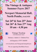 The Vintage and Antique Summer Fayre 2017