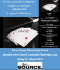 Surrey Society of Magicians Fundraising event for the Source 4 You