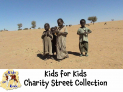 Charity street collection fin #Dorking or Charity @KidsforKids