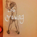 Life Drawing in Tregwynt with Fishguard Arts Society