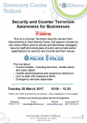 Security & Counter Terrorism Awareness for Businesses