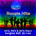 Boogie Nights at Burgess Hall 70's & 80's & 90's  Disco - May