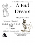 "St Peter's Players present ""A Bad Dream"" by Simon Brett"