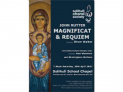 Solihull Choral Society present John Rutter's Magnificat and Requiem
