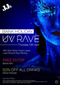 Maundy Thursday: UV Rave