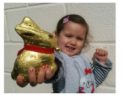 Hop along to Monkton Elm Easter treasure hunt