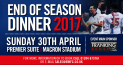 Bolton Wanderers Football Club End of Season Dinner 2017