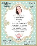 An Intimate Evening of Mediumship with Natasha Harries