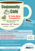 Community Cafe and Cake Bake competition