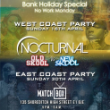Nocturnal Old Skl vs New Skl WEST COAST & EAST COAST (Double Ticket Deal)