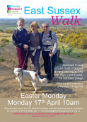 Easter Monday 17th April FSW Charity Walk Ashdown Forest