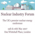 Nuclear Industry Forum, London, 2017