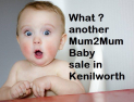 Mum2Mum Market Baby and Toddler Nearly New Sale