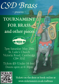 CSD Brass presents: Tournament for Brass and other pieces