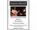 Damien Russell live at The HUntsman