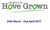march, festivals, hove, grown, home, logo, 2017, square