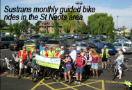 Free Guided Bike / Cycle Ride St Neots on a Sunday