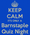 Barnstaple Charity Quiz Night In Aid of Cancer Research UK