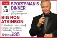 Sportsman's Dinner with Big Ron Atkinson