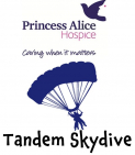 Tandem Skydive for Princess Alice Hospice @PAHospice