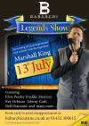 Legends Show 13th July 2015