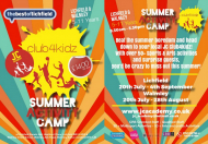 Summer Activity Camp - 2015